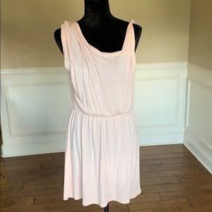 Free People Dress Ruched Adj Elastic Waist Dress